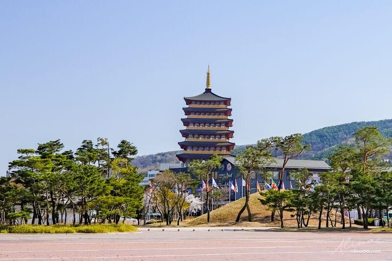 慶州九層木塔皇龍寺