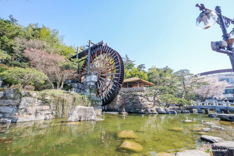 慶州巨木水車廣場