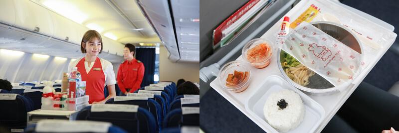 德威航空機餐