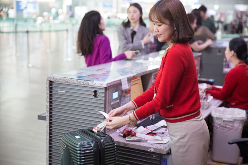 德威航空行李托運重量