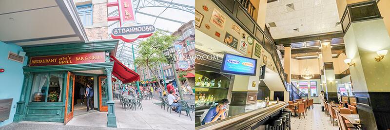 新加坡環球影城餐廳