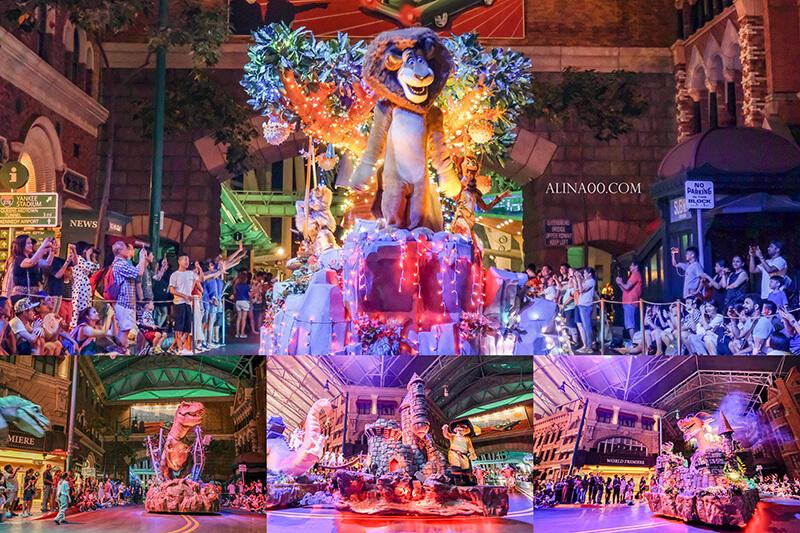 新加坡環球影城夜間遊行