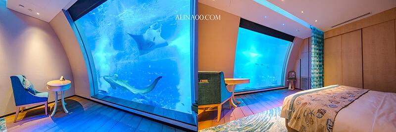 海洋水族館海景套房