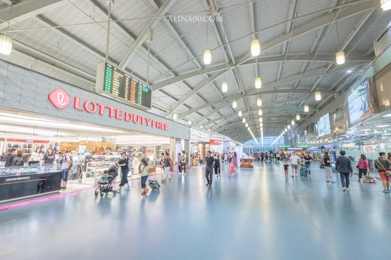 釜山金海機場免稅店