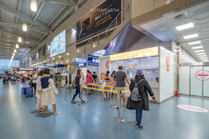 釜山機場退稅