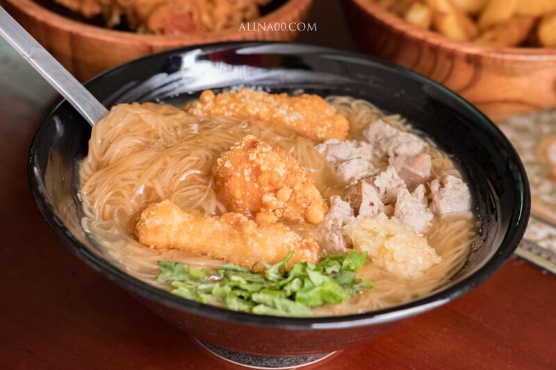 土魠魚麵線
