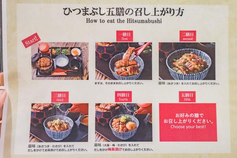 鰻魚飯花岡 鰻魚飯5吃
