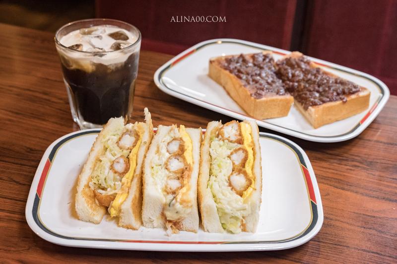 【名古屋美食】 KONPARU 推薦名物:炸蝦三明治配小倉紅豆吐司 @Alina 愛琳娜 嗑美食瘋旅遊