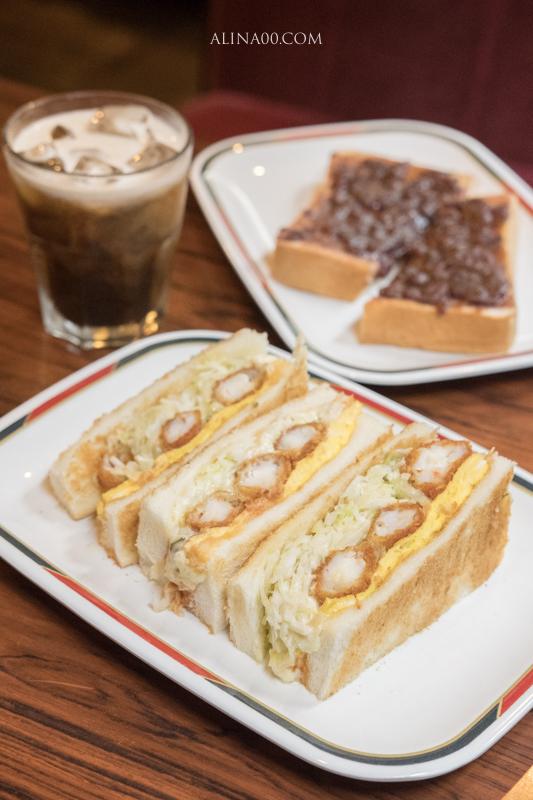 KONPARU 炸蝦三明治
