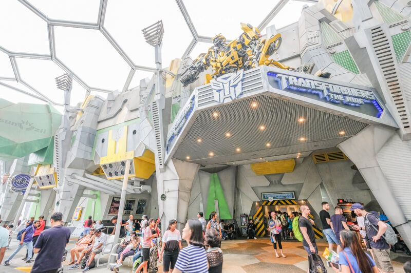 新加坡環球影城 變形金剛