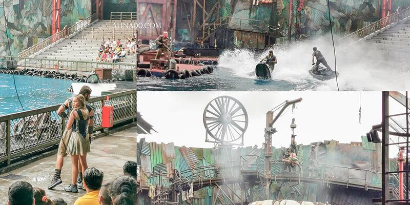 新加坡環球影城水上表演