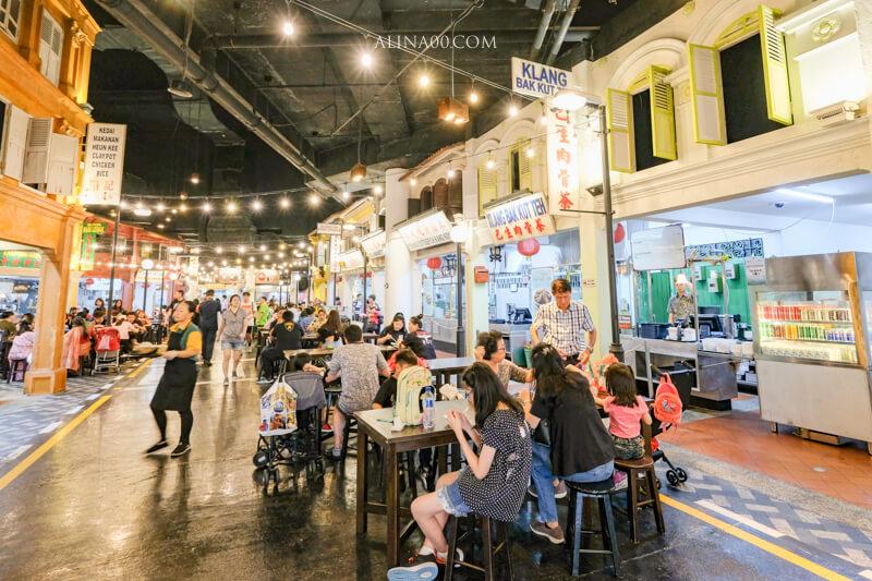 聖淘沙名勝世界 馬來西亞美食街