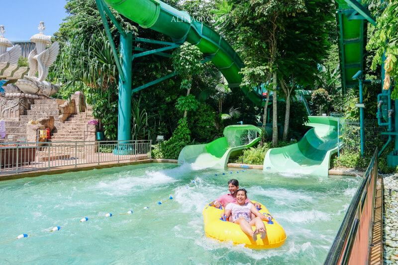 新加坡水上探險樂園遊樂設施