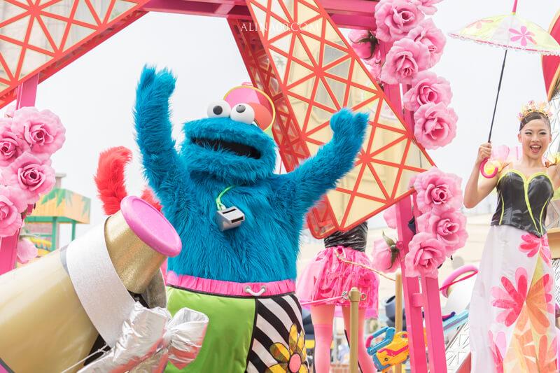日本環球影城遊行