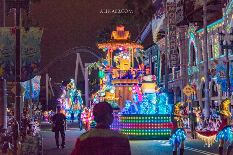 環球影城夜間遊行