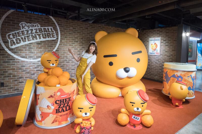 【首爾景點】 Kakao Friends VR主題樂園 首爾免費景點推薦|快來跟萊恩Ryan拍照 @Alina 愛琳娜 嗑美食瘋旅遊