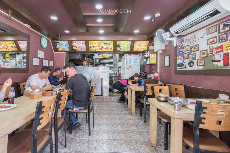 釜山西面站早餐店