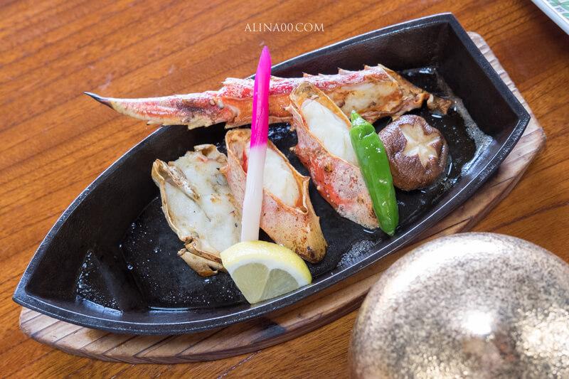 鐵板奶油螃蟹