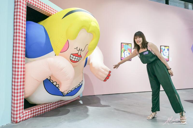 台北 跳進兔子洞 愛麗絲夢遊奇境體驗展