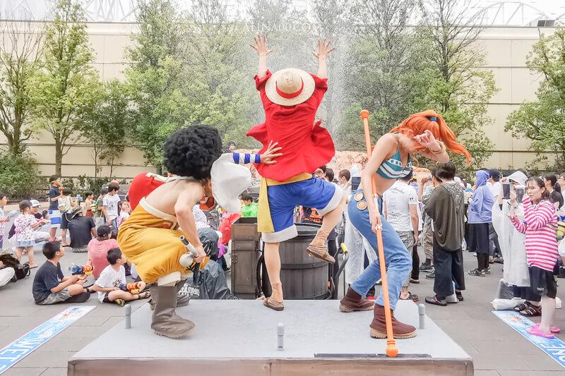 【大阪景點】日本環球影城 Extra Cool Summer 2019|跟小小兵、航海王玩水全面淋濕!