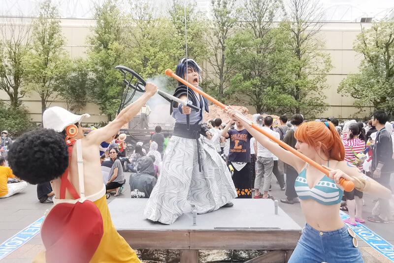 日本環球影城 航海王水上戰鬥