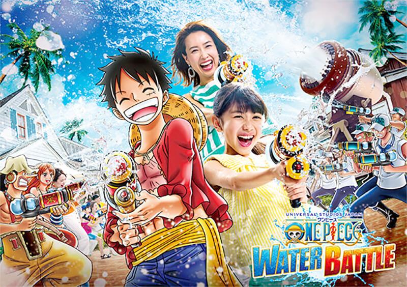 日本環球影城 Extra Cool Summer 航海王水上戰鬥