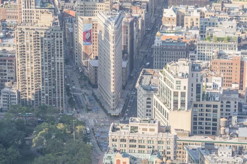 紐約景點 熨斗大廈
