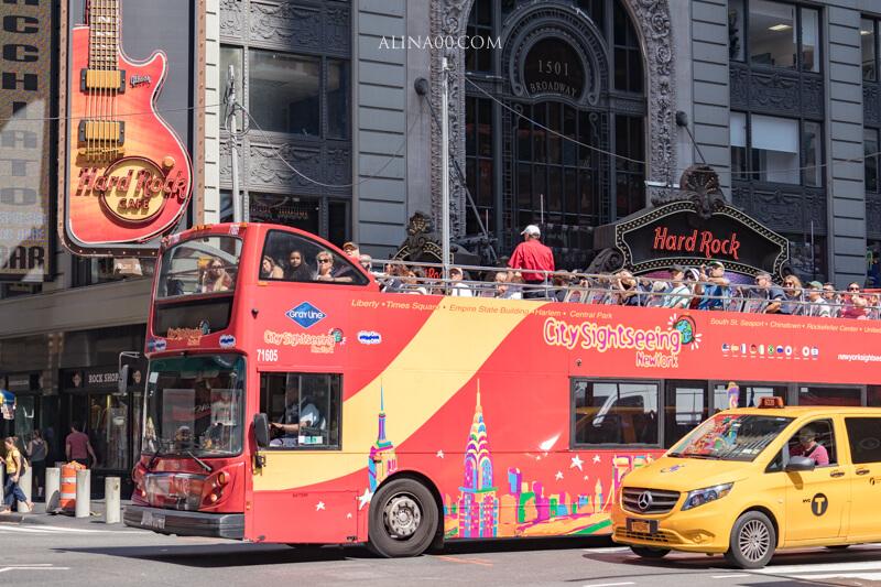 紐約隨上隨下觀光巴士