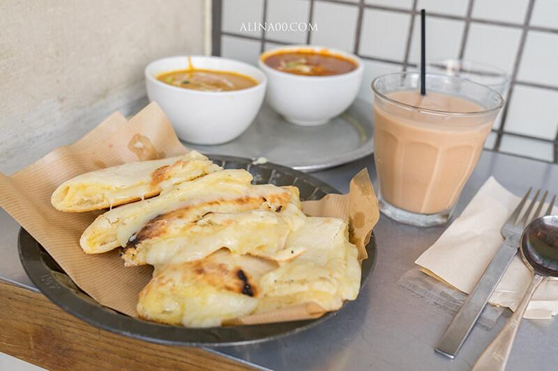 Sajilo Cafe 起司薄餅