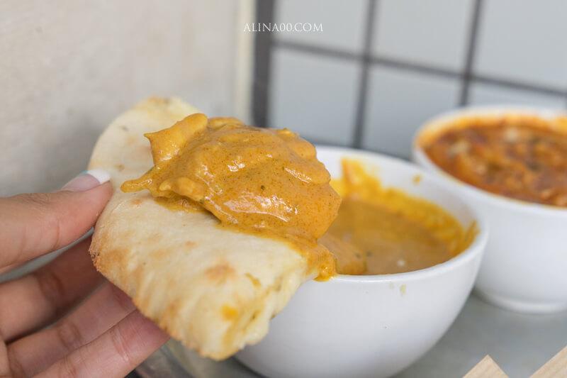 Sajilo Cafe 印度咖哩餅