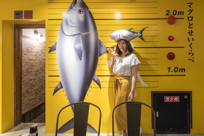 【名古屋美食】金槍魚中心 榮店:用湯匙豪邁吃鮪魚生魚片!