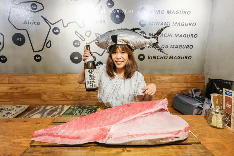 【名古屋美食】金槍魚中心 榮店:用湯匙豪邁吃鮪魚生魚片! @Alina 愛琳娜 嗑美食瘋旅遊