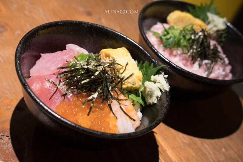 鮪魚海鮮丼