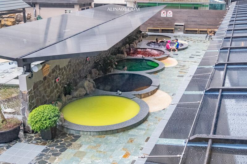 川湯春天溫泉飯店 SPA池