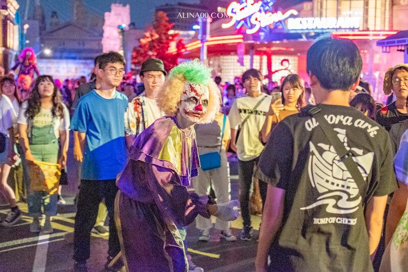 環球影城街頭殭屍