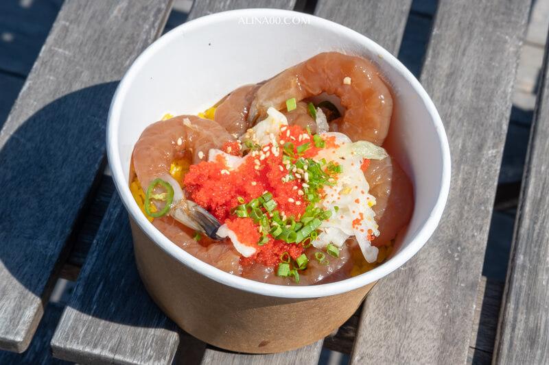 濟州海鮮飯捲 生醬蝦伴飯