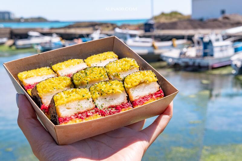 【濟州島美食】 濟州海鮮飯捲-鮮蝦飯卷|韓國IG人氣打卡美食 @Alina 愛琳娜 嗑美食瘋旅遊