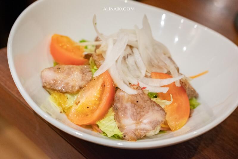 牛肉生菜沙拉
