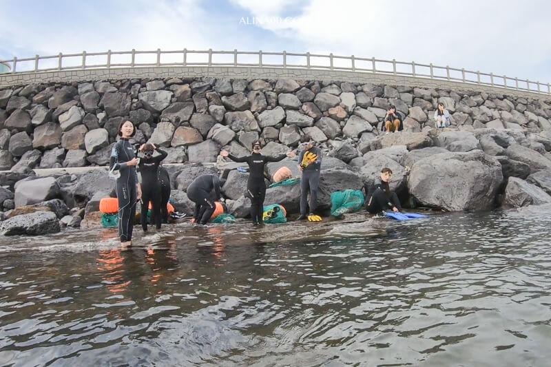 濟州島海女體驗