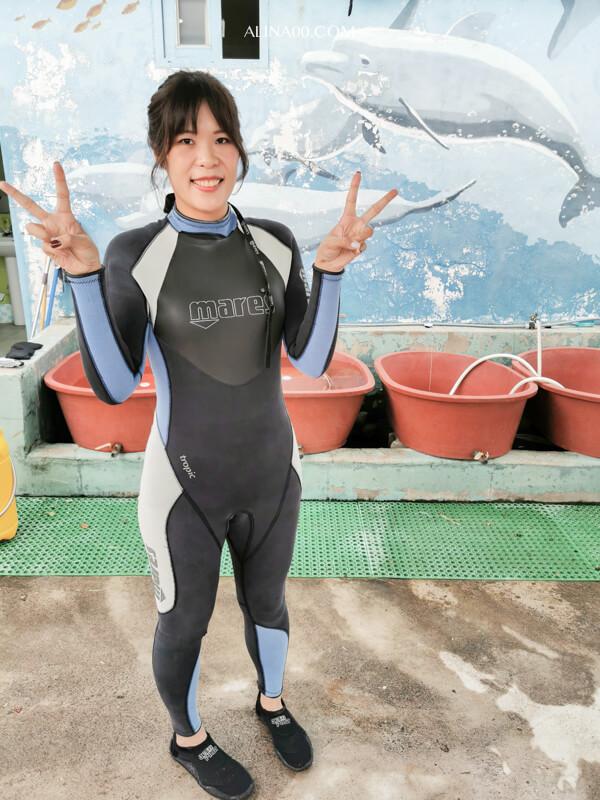 濟州島海女體驗 潛水服