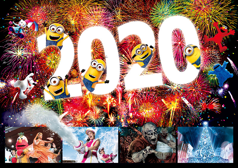 日本環球影城跨年活動2020
