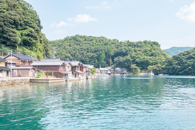 【京都景點】海之京都-伊根舟屋-遊覽船|日本威尼斯海上船屋 @Alina 愛琳娜 嗑美食瘋旅遊