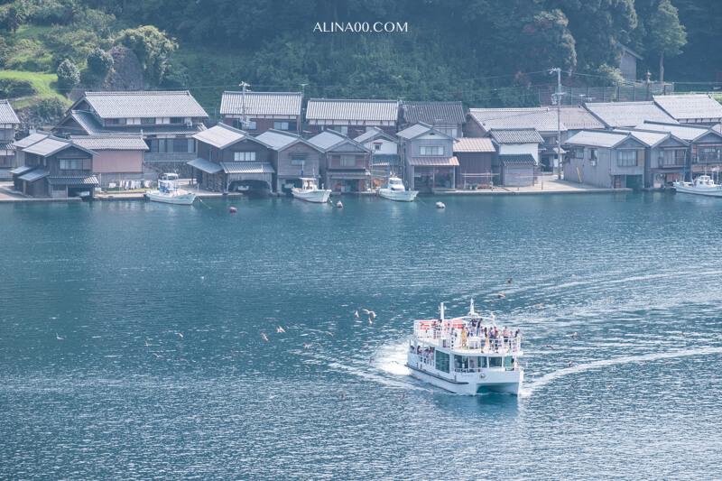 伊根舟屋 遊覽船