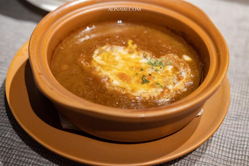 綻 1852牛排館 法式起司洋蔥湯