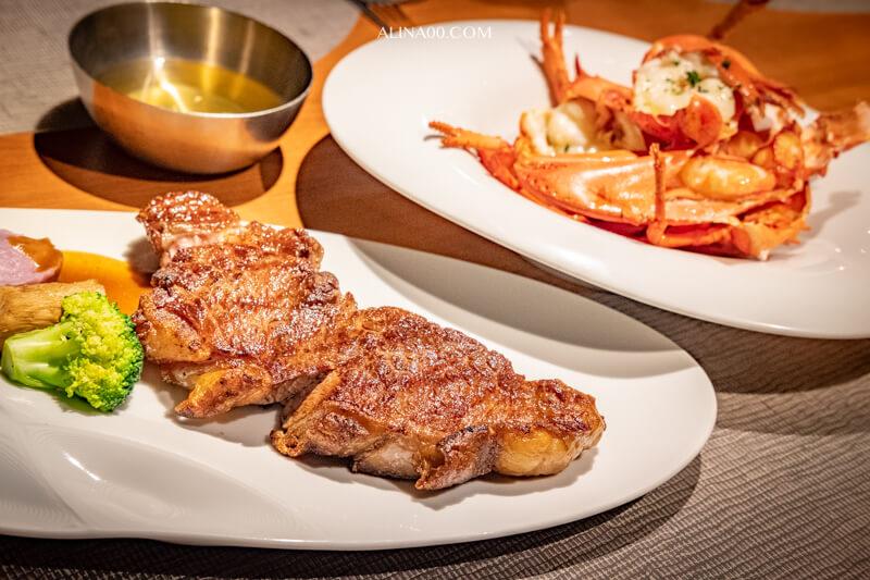 【食記】台北中山-綻 1852牛排館 |龍蝦牛排套餐海陸雙饗受 @Alina 愛琳娜 嗑美食瘋旅遊