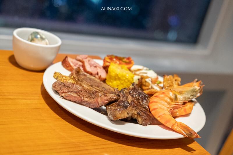 濟州樂天城市飯店晚餐