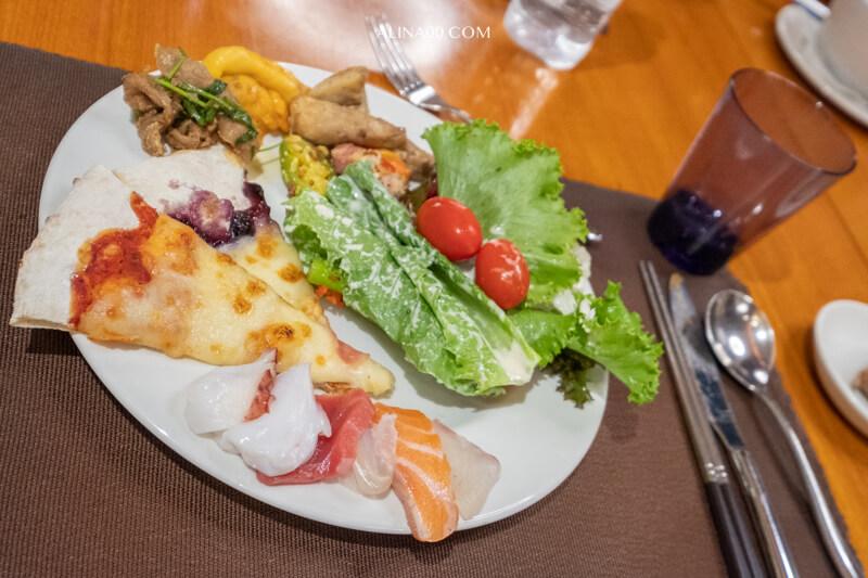 濟州島樂天城市飯店晚餐