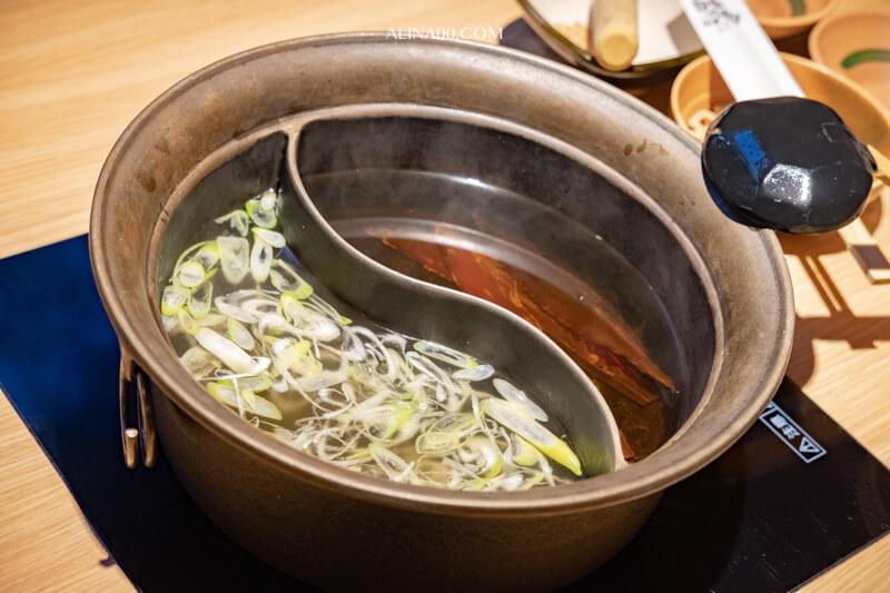 溫野菜雙拼湯頭