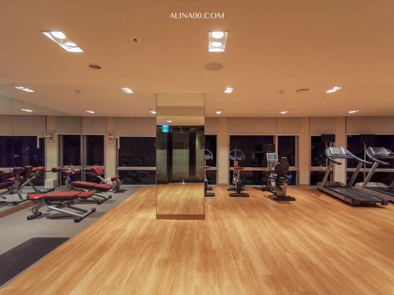 濟州島樂天城市酒店健身房