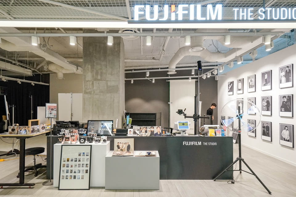 韓國證件照 Fuji Film The Studio